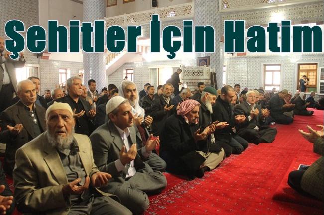 Şanlıurfa'da İslam Şehitlerine Hatim