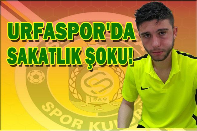 Urfaspor'da sakatlık şoku!