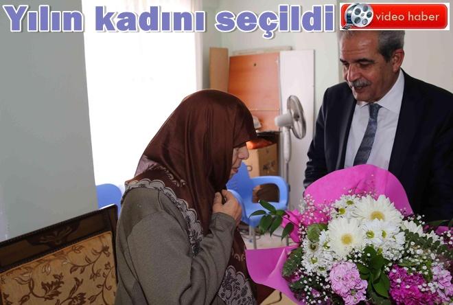 Urfa'da Fatma Turan yılın kadını seçildi