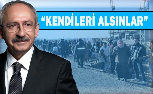 Yine skandal sözler: Suriyelileri gönderelim!