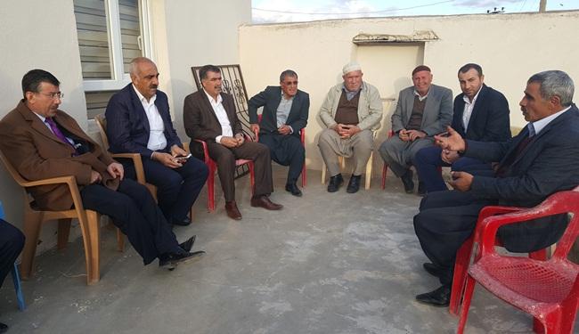 Mehmet Ali Cevheri, Hilvan köylerini gezdi