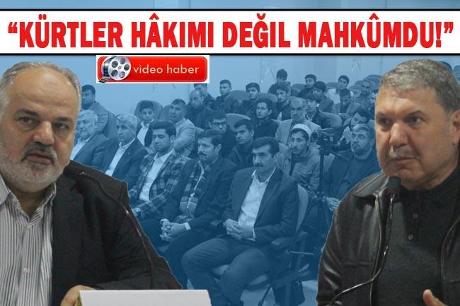 Urfa'da Kürtlerin Tarihi Konferansı: İslam'dan önce Kürtlerin durumu nasıldı?