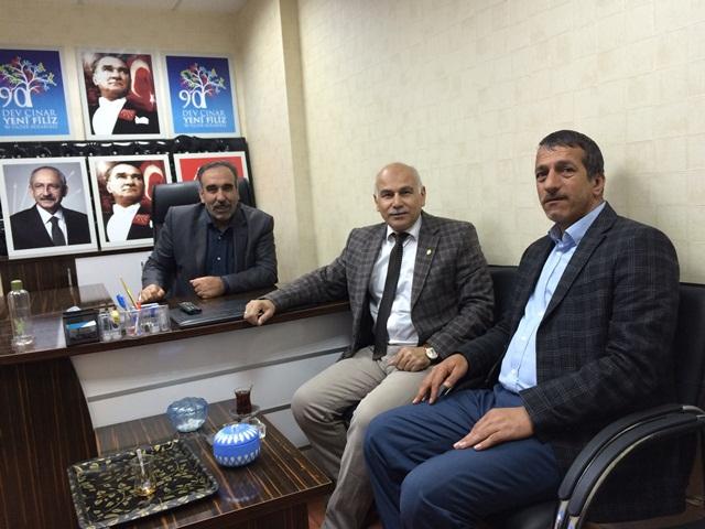 CHP Karaköprü İlçe Başkanlığına Ziyaret
