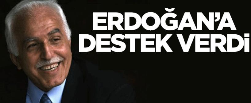 SP lideri Mustafa Kamalak'tan Erdoğan'a sürpriz destek