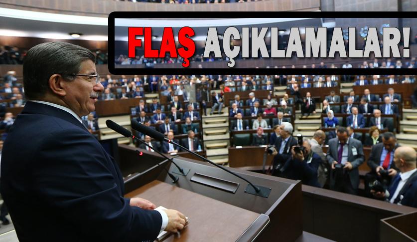 Ahmet Davutoğlu, Grup toplantsında konuştu: gönül coğrafyamızdan koparmaya çalıştılar