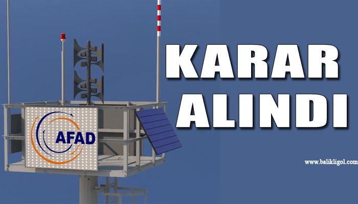 Türkiye Urfa sınırına hava alarm ikaz sistemi kurulacak