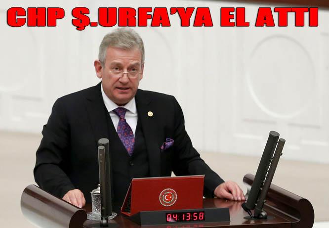 CHP, Haluk Pekşen'le Şanlıurfa'ya el attı