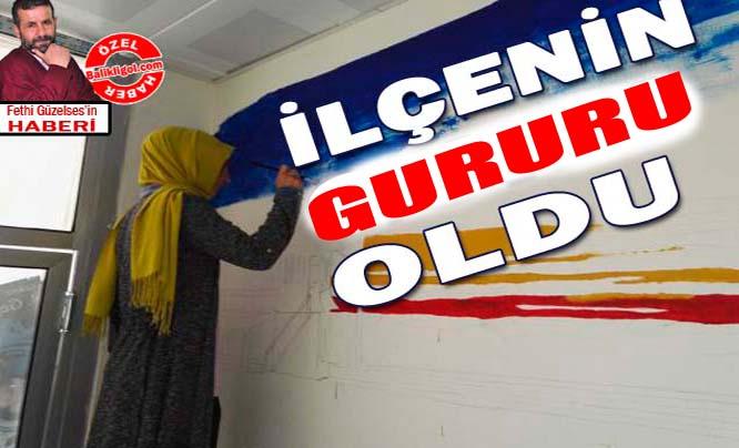 Viranşehir'de yetişti, Türkiye 2.'si oldu