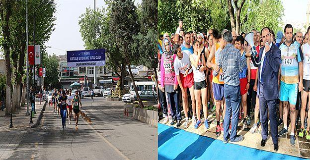 11 Nisan için 11 KM koştular