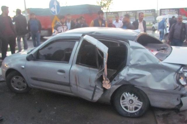 Urfa Siverek'te feci kaza: 1 ölü, 3 yaralı