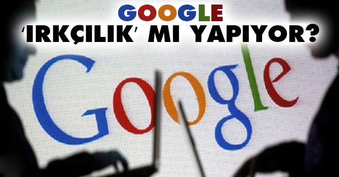 Google'ın arama sonuçlarını ayrımcılıkla itham edebilir misiniz?