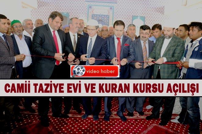 Süleyman Şah Camii dualarla açıldı