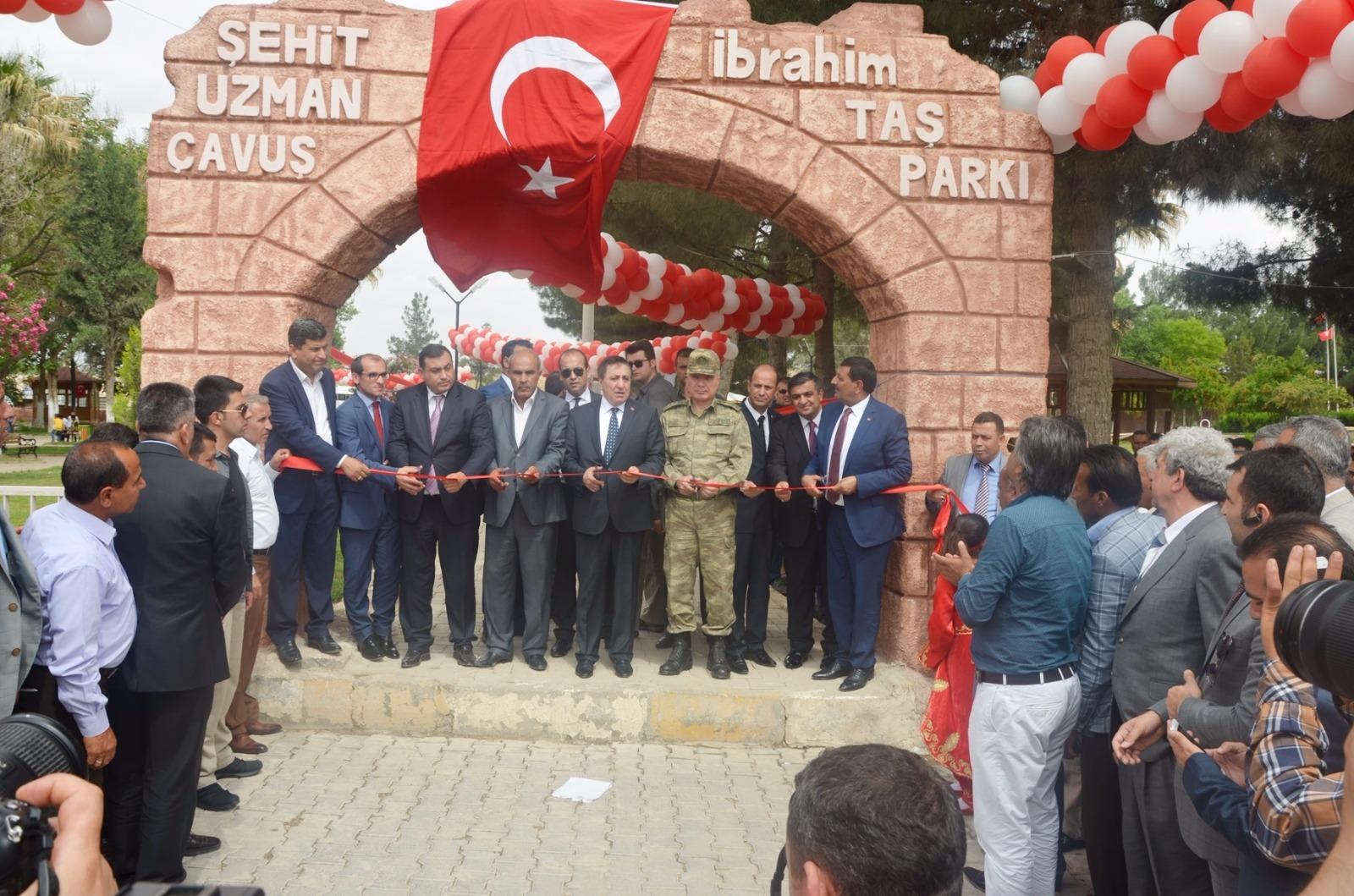 Harran'da şehit İbrahim Taş parkı açıldı