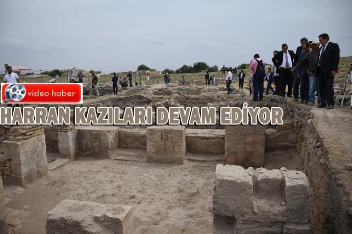 Harran'da Arkeolojik Kazılar Devam Ediyor