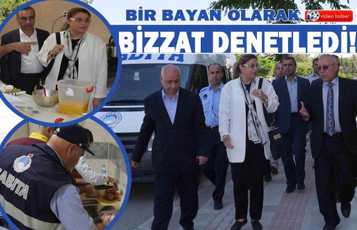 Haliliye'de Başkan Yardımcısı denetime çıktı