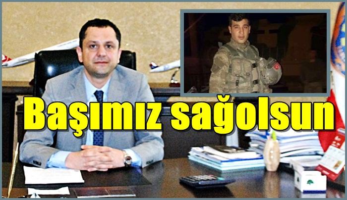 ŞUTSO Şehit Sedat Sağıroğlu için başsağlığı mesajı yayınladı
