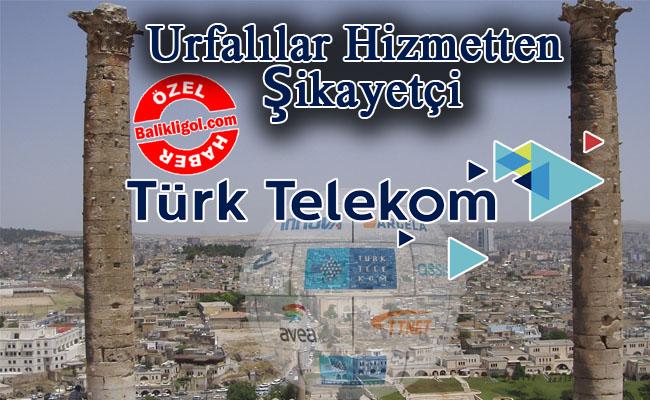 Telekom Urfa'yı fiberliyor mu? Urfalılar hizmetten şikayetçi...