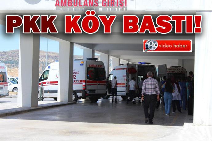 PKK'liler köyü bastı: Muhtarı öldürdü askere tuzak kurdu, 8 yaralı
