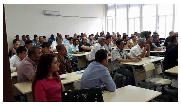 HARÜSEM Gaziantep Belediye Personeline Biyosidal Eğitimi Verdi