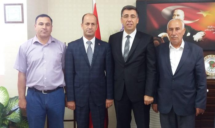 Yavuz'dan Urfa Tarım Müdürü Murat Çakmaklı'yı Ziyaret etti