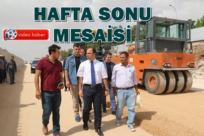 Başkan Çiftçi haftasonu bakın ne yaptı