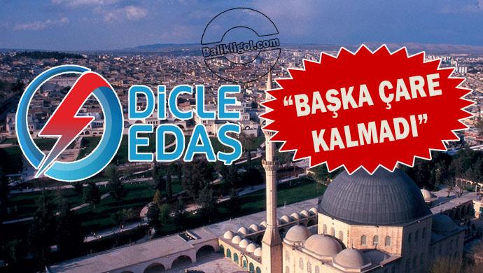 Urfa'da elektrikler niçin kesiliyor? DEDAŞ'tan şaşırtan açıklama!