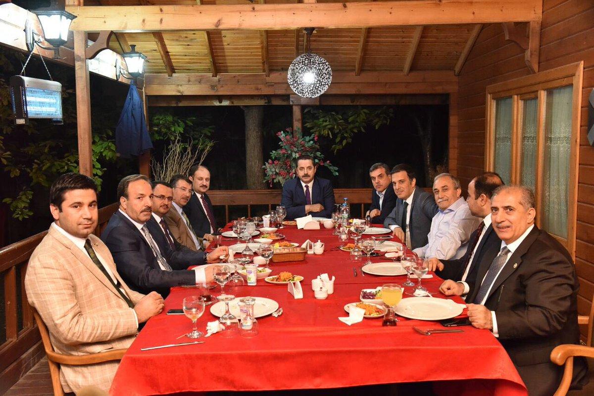Urfa için Ankara'da toplantı yaptılar