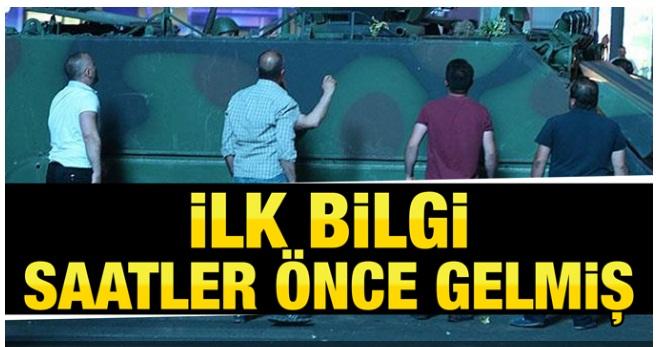 Erdoğan'a ilk darbe bilgisi ne zaman geldi-Erdoğan'ın haberi varmıydı?
