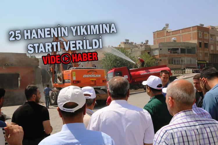 Şanlıurfa'daki O mahallede yıkımlar başladı