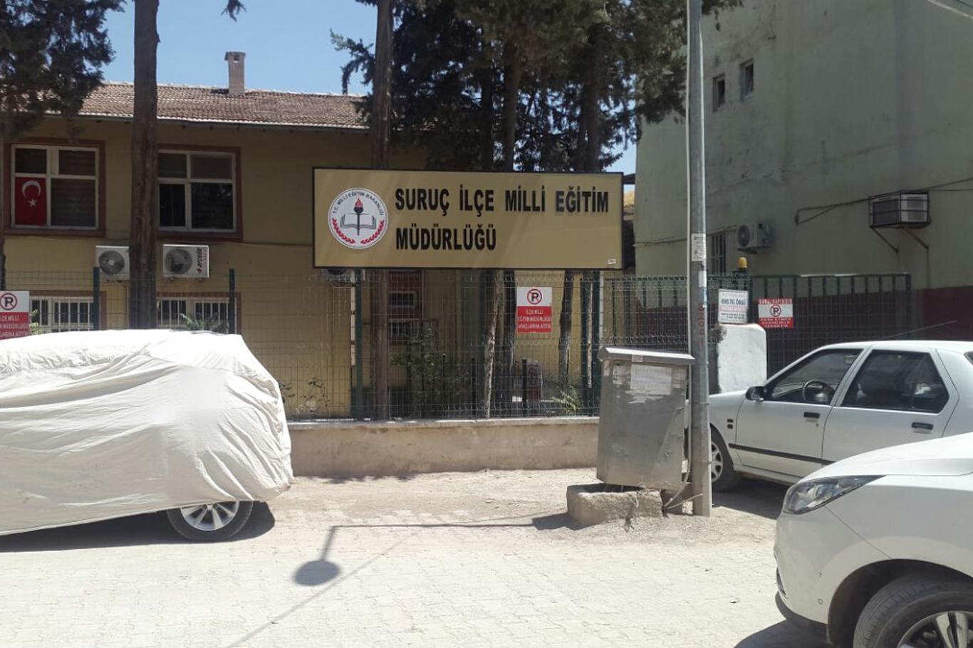 Suruç'da 5 öğretmen açığa alındı