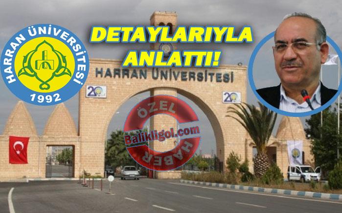 FETÖ'cülar Harran Üniversitesinde böyle kadrolaşmışlar...