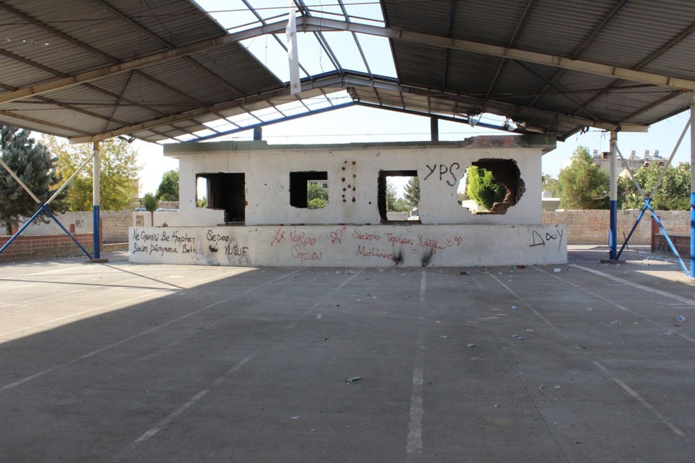 Urfa'daki Kapalı Semt Pazarı madde bağımlıların mekânı oldu