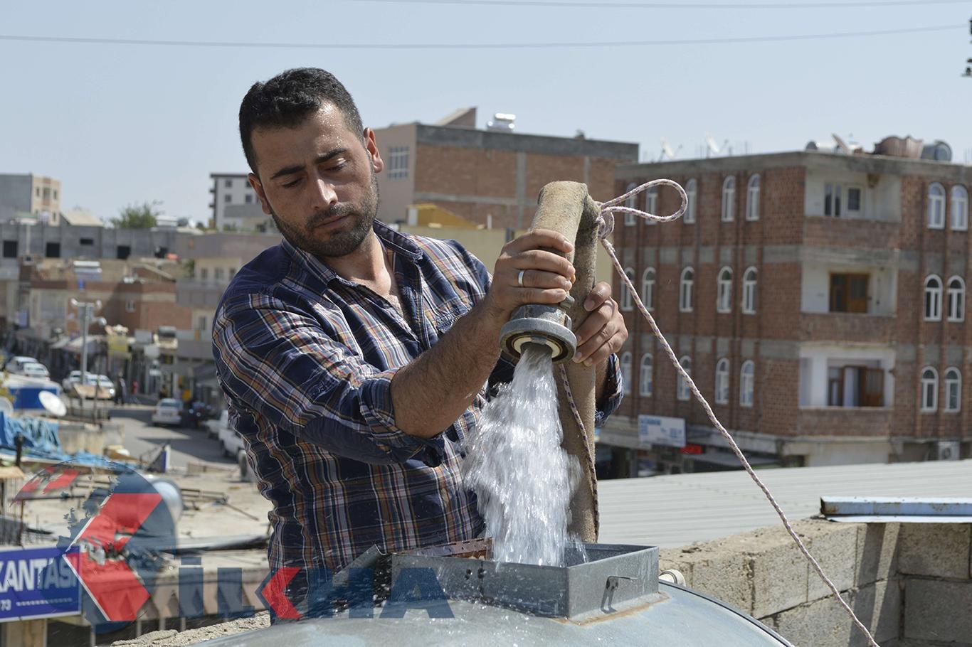 Şanlıurfa Hilvan ilçesinin su sorunu devam ediyor