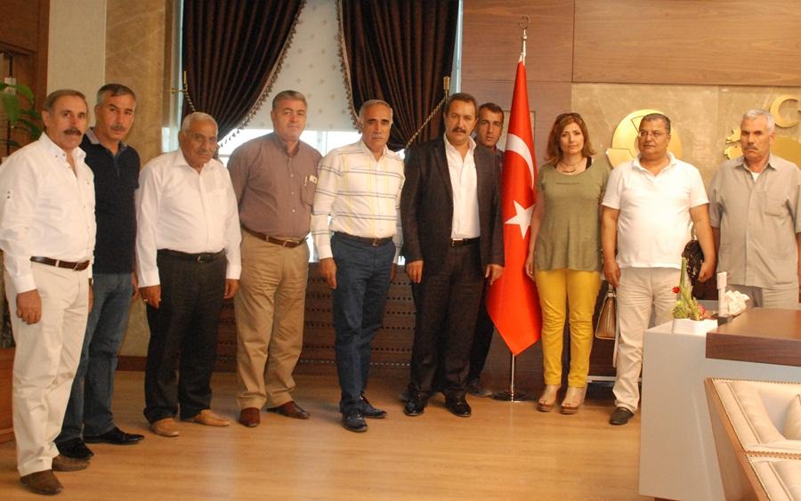 CHP Urfa Teşkilatından Ticaret Borsasına Ziyaret