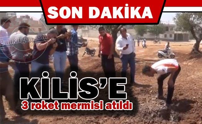 Suriye Tarafından Kilis'e 3 roket mermisi atıldı