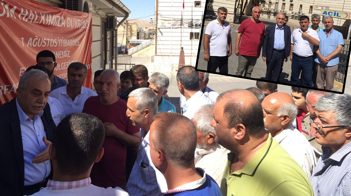 Çözüm istediler-Taşınan Çocuk hastanesi esnafı Fakıbaba'ya dert yandı