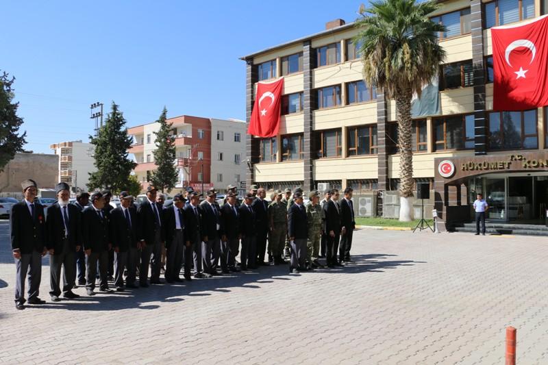Akçakale'de 19 Eylül Gaziler Günü Kutlandı