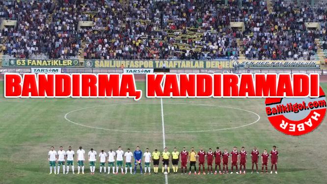 Şanlıurfaspor Bandırmaspor 1-0