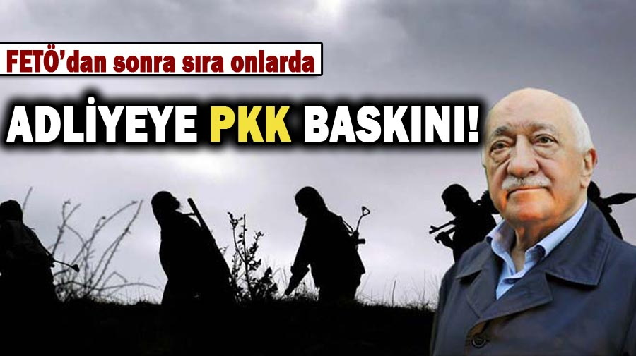 Adliyeye personeli PKK'dan gözaltına alındı