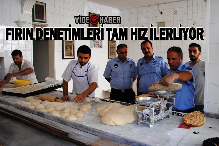 Şanlıurfa'da Ekmek Fırınları denetlendi