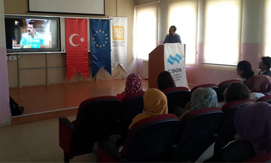 Şanlıurfa'da KITUP 2 Hibe Bileşeni Bilgilendirme Toplantısı yapıldı