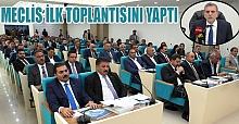 Şanlıurfa Büyükşehir Belediye Meclisi ilk toplantısı ile yeni dönemi başlattı