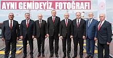 Liderlerden aynı gemideyiz fotoğrafı