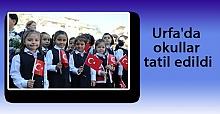 Akçakale, Ceylanpınar ve Suruç'ta Okullar 5 Gün Tatil Edildi