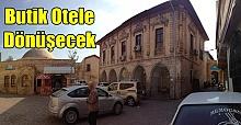 Urfa'daki Tarihi Konaklar Butik Otele Dönüştürülüyor
