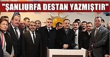 Mehmet Özhaseki Viranşehir'de Konuştu