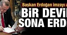 Erdoğan'ın İmzasıyla İthalat yasağı getirildi