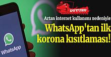 WhatsApp'ta Durumlar Değişti! İlk Kısıtlamayı Videoya Getirdiler