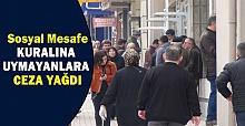 Urfa'da Sosyal Mesafe Cezası Yağdı