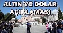 Erdoğan Cuma Namazının Çıkışında Konuştu: Güçlenerek yolumuza devam ediyoruz